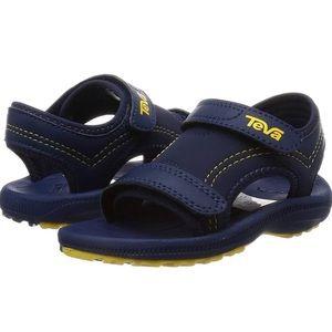 Boy Teva Sport Sandal 3 Navy Yellow Psyclone Youth